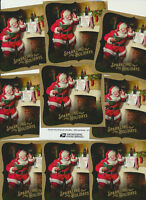 USPS Sparkling Holidays Santa Souvenir Sheet LOT OF TEN SHEETS Great Gift