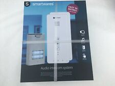 New - Smartwares Audio intercom system DIC 211,  2 way speech, door lock release