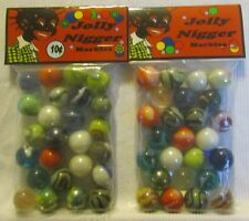 2 Bags Of Jolly Negro 10 Cent Marbles Promo Marbles