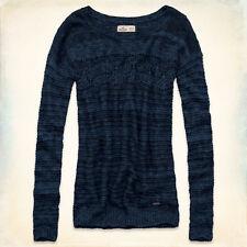 NWT Hollister Co Boneyard Beach Knit Sweater Top Sz XS S