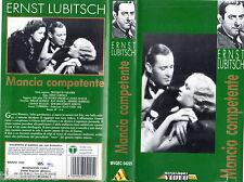 Mancia competente (1932) VHS  Mondadori Video  Ernst Lubitsch - Cult