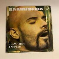 Rammstein Multimedia Sampler CD 2001 Promo Sampler Mutter IchWill Sonne VERYRARE