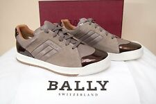 BALLY Oddy Leather Shoes Sneakers EU 10 US 11 FR 44 NIB $550