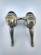 Vintage Shimano RSX 3 x 7 STI ST-A410 Shifters Rebuilt Cleaned and Lubricated