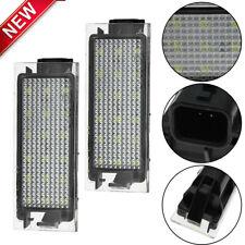 2PC Error Free LED Number License Plate Lights For Renault Clio Laguna Megane