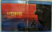 KONG SKULL ISLAND BLU-RAY & 3D .CUSTOM WRAP AROUND COVER & INSERT. 1 OF 1 MADE.