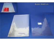 BUSTE CELLOPHANE 40X60 CM 10 PZ Confezioni Regalo Natale Fiocchi Cellofan 148914