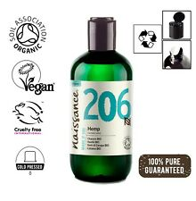Naissance Hemp Seed Oil, Virgin Cold-Pressed Certified Organic 250ml