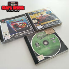 3x PlayStation 1 PS1 PAL Games Scooby Formula 1 Superbike 2 | Aus + FREE POST