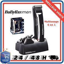 Tondeuse Cheveux Barbe Nez Poils Multiusage Babyliss E823E Rechargeable Sans fil