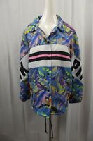 NEW Victoria's Secret PINK Womens M Medium Sherpa Lined Windbreaker Jacket Coat