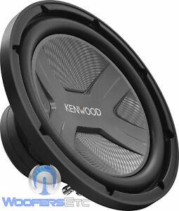 "KENWOOD KFC-W3041 SUB 12"" 2000W SINGLE 4-OHM COIL BASS SUBWOOFER CAR SPEAKER NEW"