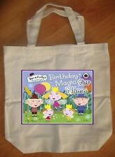 """""""Ben and Holly Little Kingdom"""" Personalized Tote Bag - NEW"""