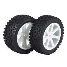4x 1/10 RC Truck Rubber Tire Wheel Tyre for ZD Racing Buggy Crawler Car S