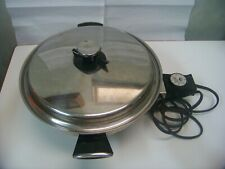 "Vollrath Model 24 - 1200W 10"" Stainless Steel Electric Skillet Made in USA S-825"
