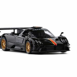 Pagani Zonda R 1:32 Scale Model Car Diecast Gift Toy Vehicle Kids Black Sound