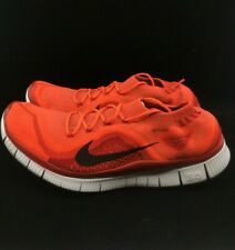 brand new 40964 ad5dc RARE🔥 Nike Free Flyknit+ RED CRIMSON Sz 10 615805 606 Men s Shoes