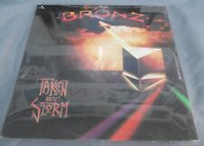 BRONZ -TAKEN BY STORM- 1984 MEXICAN LP STILL SEALED HEAVY METAL