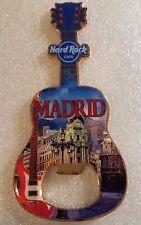 Hard Rock Cafe MADRID Bottle Opener Magnet V17