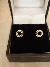 Butterfly Fastening Stud Yellow Gold Fine Diamond Earrings