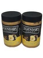2 Legendary Foods Chocolate Banana Flavored Peanut Spread 16 Oz Keto Non Gmo GF