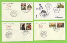 First Day of Issue Italian Stamps