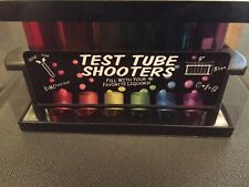 6 Test Tube Shooters Glasses Holder Multicolor Science Experiment Party Drinks
