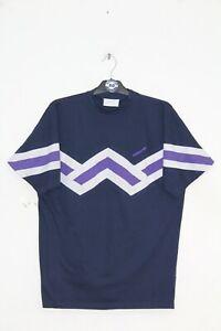 ADIDAS ORIGINAL 90'S VINTAGE EMBROIDERED WAVEY T-SHIRT,RETRO,D8,SIZE:XL