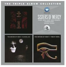 Triple Album Collection - 3 DISC SET - Sisters Of Mercy (2012, CD NEUF)