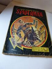 bandes dessinées insolites, spiderman  , N°12  ,1969(car15)