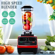 More details for 2200w professional food high speed blender table top 2l crushed ice juicing home