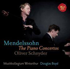 OLIVER/BOYD,D./MUSIKKOLLEGIUM WINTERTHUR SCHNYDER - DIE KLAVIERKONZERTE  CD NEW