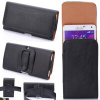 New Vertical/Horizontal Holster Belt Clip Carrying Case Pouch For Samsung Phone