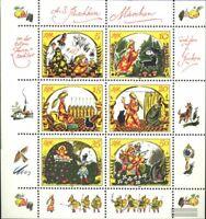 DDR 2914-2919 Kleinbogen (kompl.Ausgabe) gestempelt 1984 Märchen