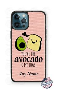 Happy Valentine's Day  Avocado Love Phone Case For iPhone 12 Samsung LG Google
