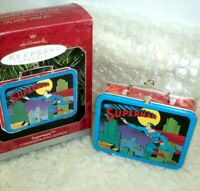 Hallmark Christmas Ornament Superman Vintage Lunch Box Commemorative Edition NIP