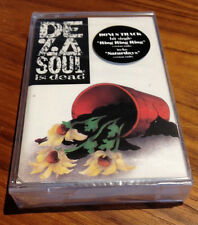 De La Soul Is Dead SEALED NEW OLD STOCK Cassette Tribe Called Quest 3 Feet High