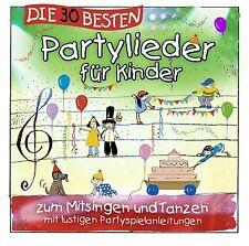 DIE 30 BESTEN PARTYLIEDER FÜR KINDER   Neu in Folie!!!