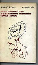 Benzoni - Tedesco # DOCUMENTI DEL SOCIALISMO ITALIANO