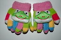 children's frog gloves for girl or boy ages 1-4