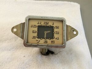 1936 Buick Glove Box Door Clock