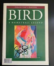 SIGNED LARRY BIRD NIGHT  PROGRAM    CELTICS   COLLECTORS   EDITION 2/4/93