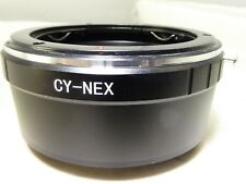 Contax/Yashica CY-NEX Lens to Sony E Camera Mount Adapter Ring ILCE α6300 α7R II