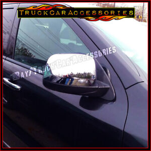 For JEEP Grand Cherokee 2011 2012 2013 2014 2015 2016 Chrome Top Mirror Cover