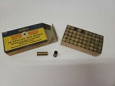 Western Super Match 38 Special Mid Range 50 Count Empty Ammo Box wEmpty Shells