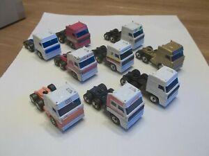 9 x Matchbox Convoy Cabs - DAF 3300 Space Cab  - Job Lot