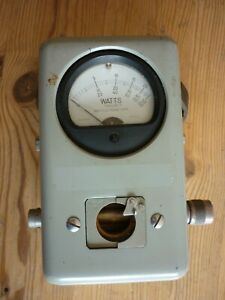 Bird Model 43 Thruline RF Directional WattMeter - 50 Ohms