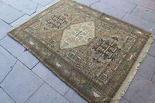 """Vintage Handmade Turkish Oushak Wool  Area Rug Carpet 60""""x46"""""""