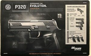"""Brand New Sig Sauer Model P320 Pistol Cleaning Mat 11 x 17"""" FREE Ship Plus Extra"""