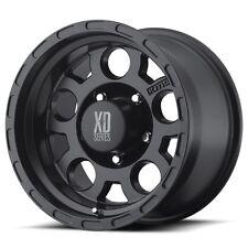 "18"" XD Series XD122 Enduro Black Wheel 18x9 5x5 0mm Jeep Wrangler Chevy 5 Lug"